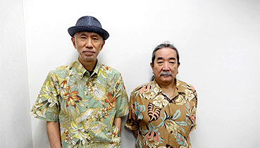 左:田家秀樹氏、右:長門芳郎氏
